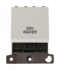 MD022WHDW 20A DP Switch White Dishwasher