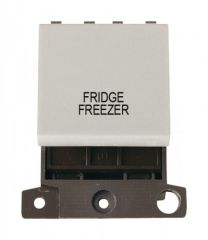 MD022WHFF 20A DP Switch White Fridge Freezer