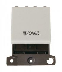 MD022WHMW 20A DP Switch White Microwave