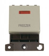 MD023PNFZ 20A DP Ingot Switch With Neon Pearl Nickel Freezer