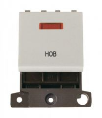 MD023WHHB 20A DP Switch With Neon White Hob