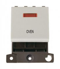 MD023WHOV 20A DP Switch With Neon White Oven