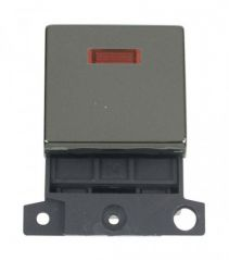 MD023BN 20A DP Ingot Switch With Neon Black Nickel