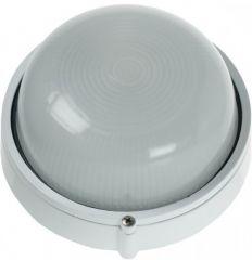 Scolmore Ovia OL405WH IP54 Round Die Cast Aluminium Bulkhead White