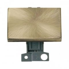 MD009AB 2 Way Ingot 10AX Paddle Switch Antique Brass