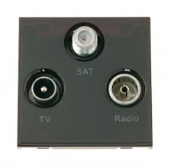 Scolmore Click New Media MM430BK Triplexed TV, Radio & Satellite