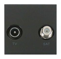 Scolmore Click New Media MM425BK Diplexed TV And Satellite