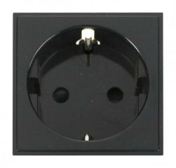 Schuko Socket Outlet- Scolmore Click New Media MM020BK 16A European