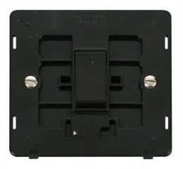 Scolmore Click Definity SIN011BK 10AX 1 Gang 2 Way Switch Insert Black