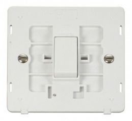 Scolmore Click Definity SIN025PW 10AX 1 Gang Intermediate Switch Insert White