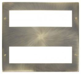 Scolmore Click New Media MP516AB Large Media Front Plate 2 X 8 Module