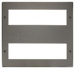 Scolmore Click New Media MP516BN Large Media Front Plate 2 X 8 Module