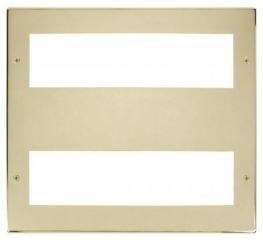 Scolmore Click New Media MP516BR Large Media Front Plate 2 X 8 Module