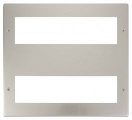 Scolmore Click New Media MP516PN Large Media Front Plate 2 X 8 Module