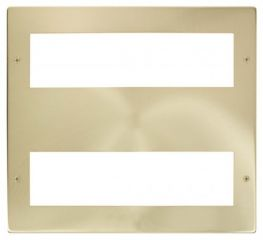 Scolmore Click New Media MP516SB Large Media Front Plate 2 X 8 Module