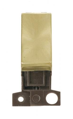 Click MiniGrid Satin Brass Modules