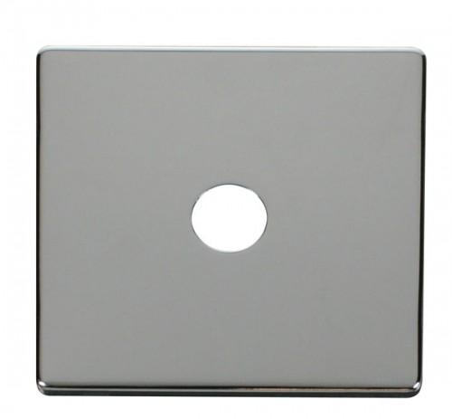 Click Definity Polished Chrome Media Socket Cover Plates