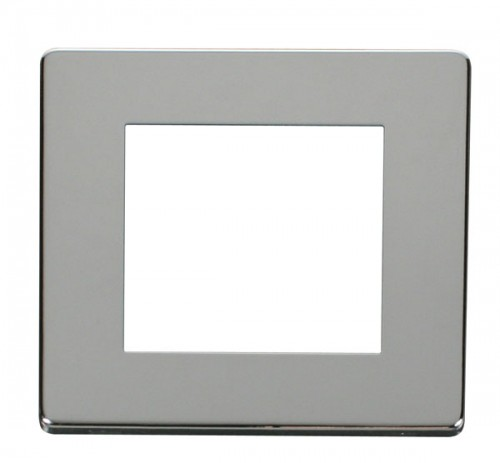 Click Definity Polished Chrome New Media Cover Plates