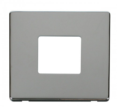 Click Definity Polished Chrome Switches Cover Plates