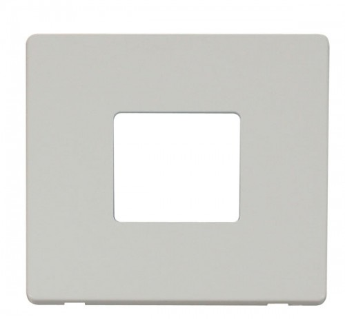 Click Definity Polar White Switches Cover Plates