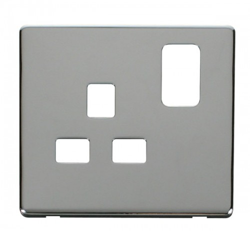 Click Definity Polished Chrome Cover Plates