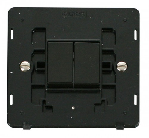 Scolmore Click Definity Black Switches Inserts