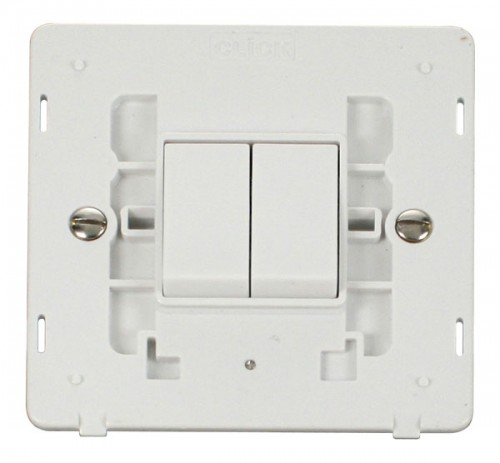 Click Definity Polar White Switches Inserts
