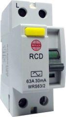 Wylex WRS63/2 63A 30mA 2 Pole RCD A.C