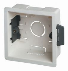 Scolmore Click WA087P 1 Gang 35mm Deep Dry Lining Box