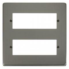 VPBN512 12 Minigrid Module Plate Black Nickel