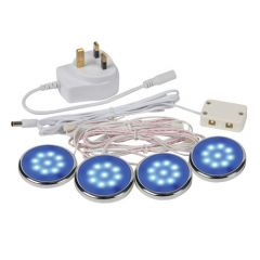 Saxby Lighting Zest Under Cabinet LED Kit Blue