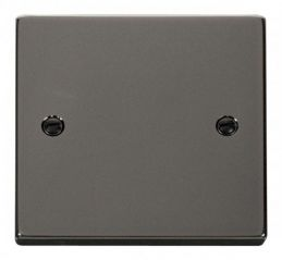 Scolmore Click Deco VPBN060 1 Gang Blank Plate