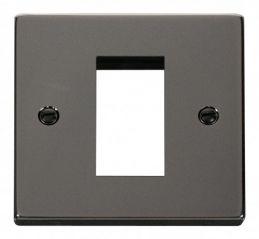 Scolmore Click Deco VPBN310 Single Plate - Single Media Module Aperture