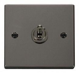Scolmore Click Deco VPBN421 1 Gang 2 Way 10AX Toggle Switch