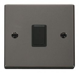 Scolmore Click Deco VPBN622BK 20A 1 Gang DP Switch