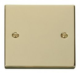 Scolmore Click Deco VPBR060 1 Gang Blank Plate
