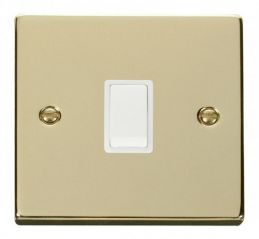 Scolmore Click Deco VPBR622WH 20A 1 Gang DP Switch - White