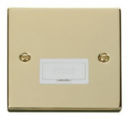 Scolmore Click Deco VPBR650WH 13A Fused Connection Unit - White