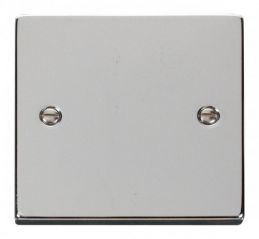 Scolmore Click Deco VPCH060 1 Gang Blank Plate