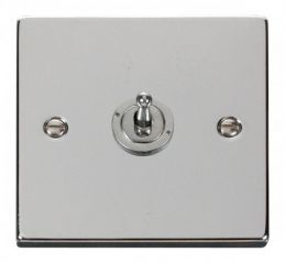 Scolmore Click Deco VPCH421 1 Gang 2 Way 10AX Toggle Switch