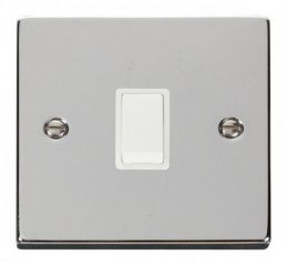 Scolmore Click Deco VPCH622WH 20A 1 Gang DP Switch - White