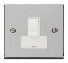 Scolmore Click Deco VPCH651WH 13A Fused Switched Connection Unit - White