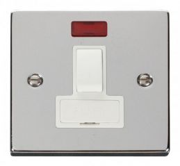 Scolmore Click Deco VPCH652WH 13A Fused Switched Connection Unit With Neon - White