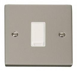 Scolmore Click Deco VPPN025WH 1 Gang Intermediate 10AX Switch - White
