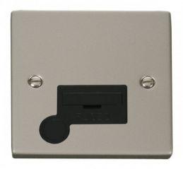 Scolmore Click Deco VPPN050BK 13A Fused Connection Unit With Flex Outlet - Black