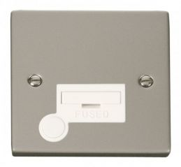 Scolmore Click Deco VPPN050WH 13A Fused Connection Unit With Flex Outlet - White