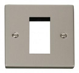 Scolmore Click Deco VPPN310 Single Plate (Single Media Module Aperture)