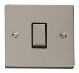 Scolmore Click Deco VPPN411BK 1 Gang 2 Way Ingot 10AX Switch - Black