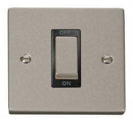 Scolmore Click Deco VPPN500BK 1 Gang 45A Ingot DP Switch - Black