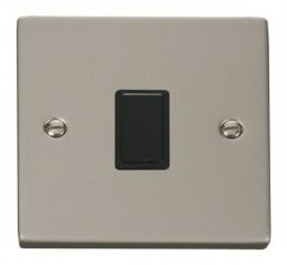 Scolmore Click Deco VPPN622BK 20A 1 Gang DP Switch - Black